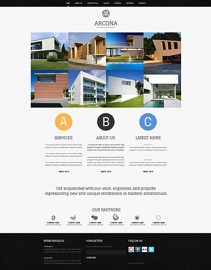 Contractor Website Templates