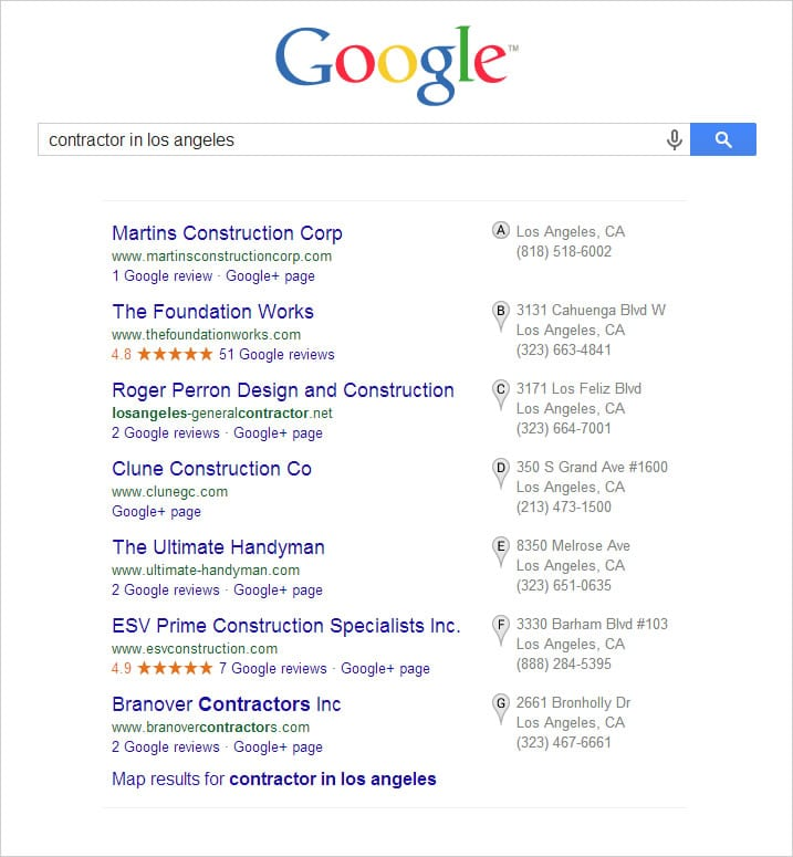 google-local-search